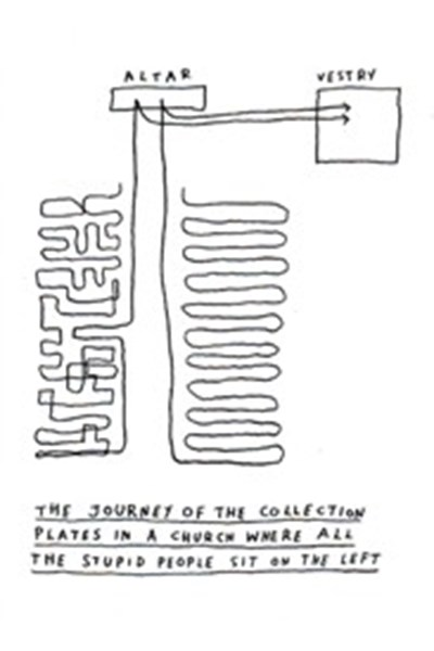 Dave Walker Card: Journey of the Collection Plate