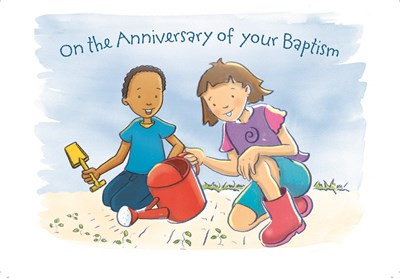 Baptism Anniversary Cards