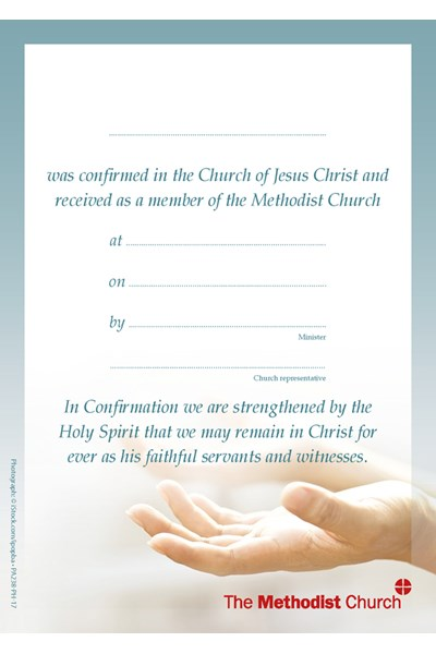 Presentation Label: Confirmation and Membership