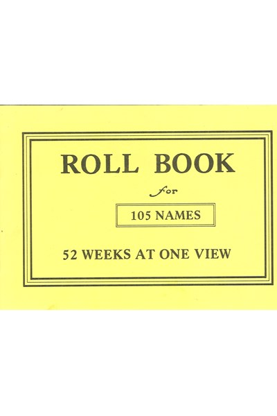 SS11 Sunday School Roll Book (12 names)