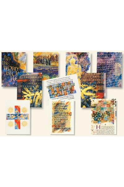 Saint John's Bible Notecards: Gospels