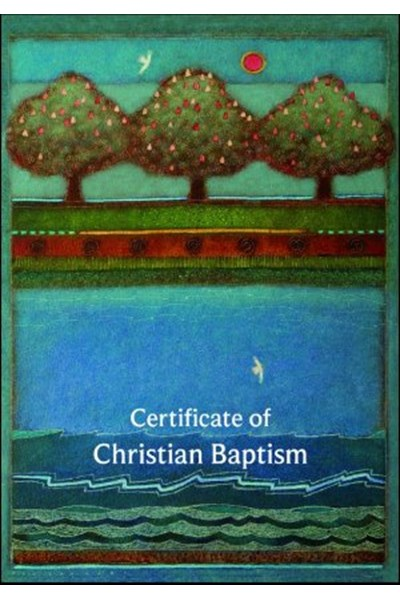 Certificate of Christian Baptism B20A