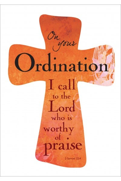 Ordination Card 'I call to the Lord'