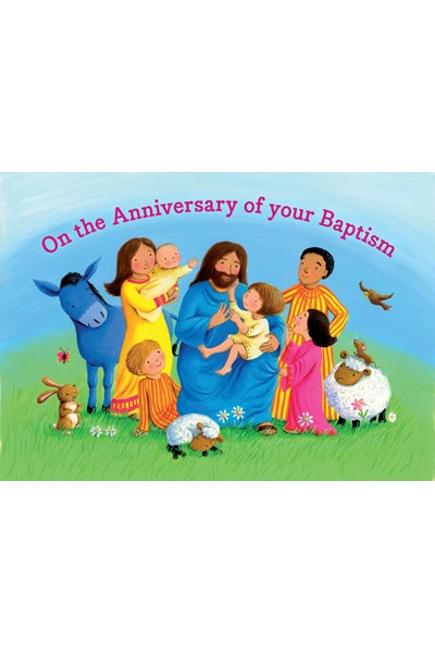 Anniversary of Baptism Card BC1A