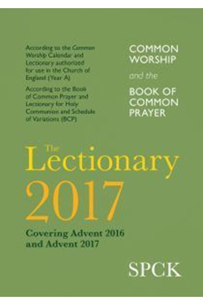 Common Worship and BCP Lectionary 2017