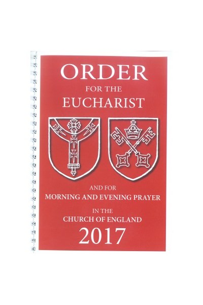 Order for the Eucharist 2017