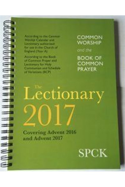 Common Worship Lectionary 2017 (spiral-bound)