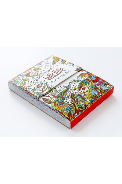 Mini Magnetic Colouring Pad (wildlife)
