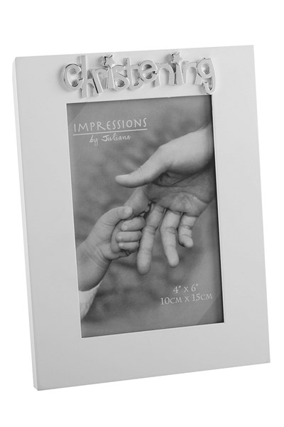 Christening Photograph Frame
