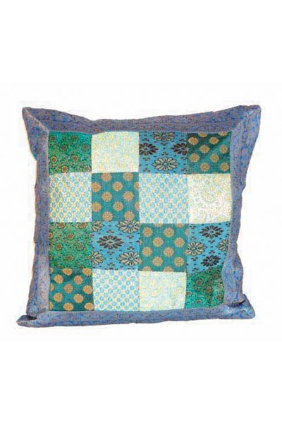 Cushion Cover, blue/turquoise
