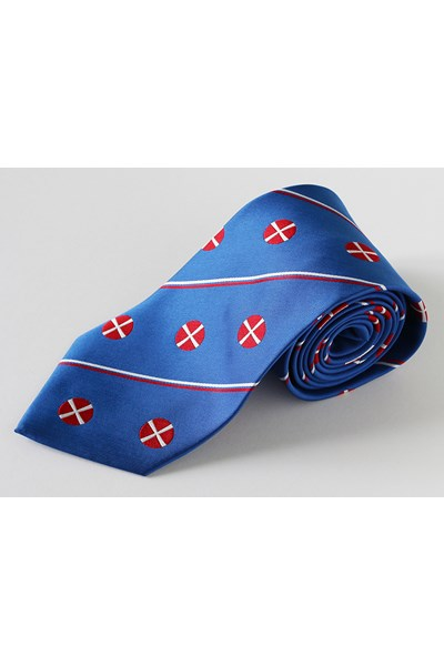 Methodist Tie, Cobalt Blue