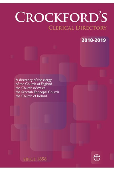 Crockford's Clerical Directory 2018- 2019 (hardback)