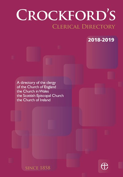 Crockford's Clerical Directory 2018-2019 (paperback)