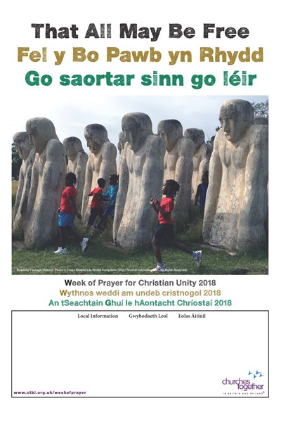 Week of Prayer for Christian Unity 2018 Poster