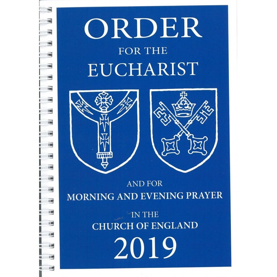 Order For The Eucharist And For Morning And Evening Prayer