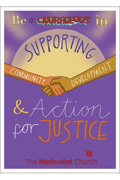 3Generate Poster: Community development and action for justice