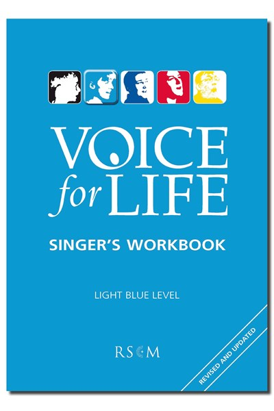 Voice for Life Singer's Workbook 2 - Light Blue Level