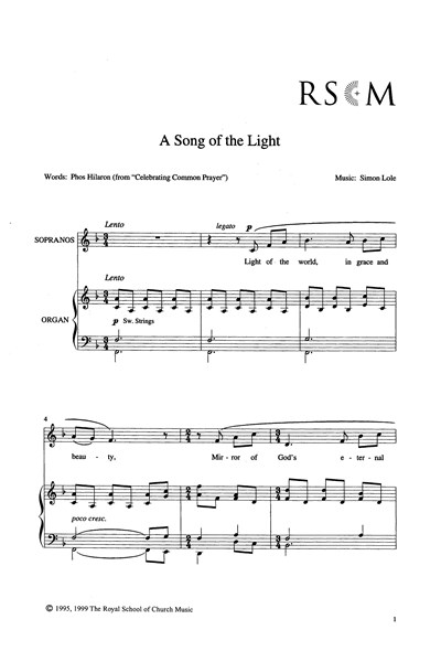 Lole: Song of the Light