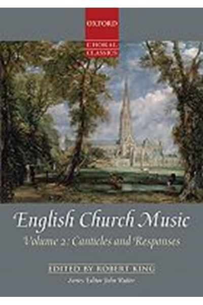 English Church Music, Volume 2: Canticles and Responses