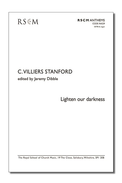 Stanford: Lighten our darkness