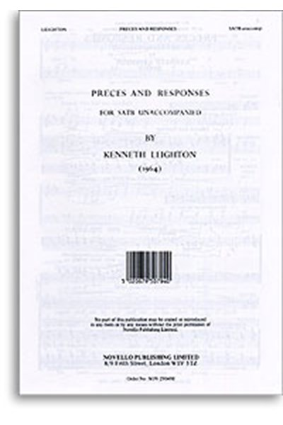 Leighton: Preces and Responses (SATB)