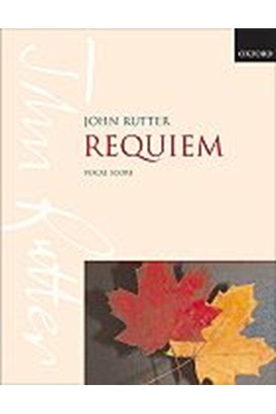 Rutter: Requiem (vocal score)