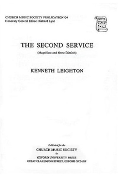 Leighton: Magnificat And Nunc Dimittis (Second Service)