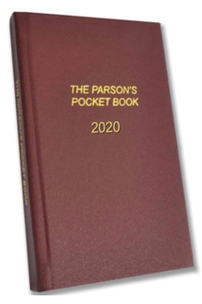 The Parson's Pocket Book 2020 : A Diary & Lectionary for Anglican Clergy