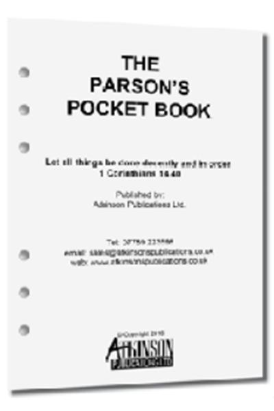 Parson's Pocket Book Loose Leaf A5 Diary 2020