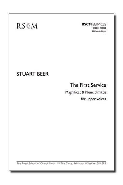 Beer: First Service Magnificat & Nunc dimittis for SS & Organ