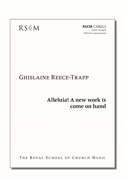 Reece-Trapp: Alleluia! A new work is come on hand
