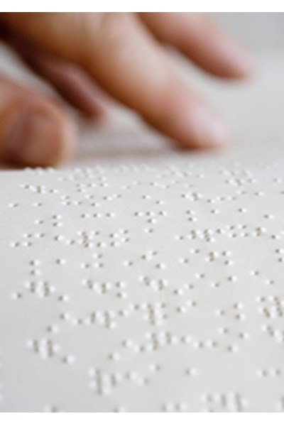Easter Offering Order of Service - Braille