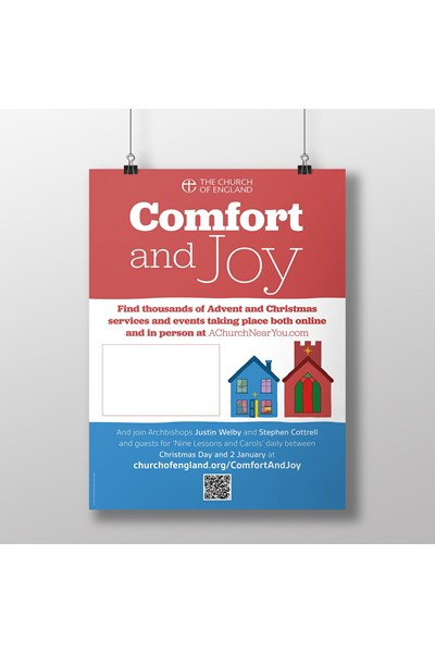 Comfort and Joy A3 Poster