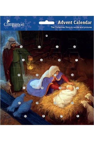Holy Family Christmas Story - Advent Calendar