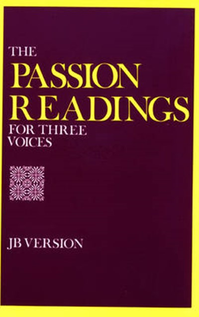 Passion Readings for Three Voices
