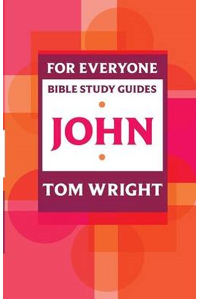 For Everyone Bible Study Guide: John
