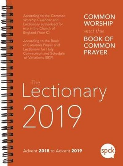 Common Worship Lectionary 2019