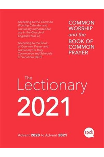 Common Worship Lectionary 2021 Spiral Bound