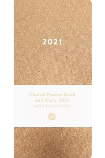 Church Pocket Book and Diary 2021 Bronze