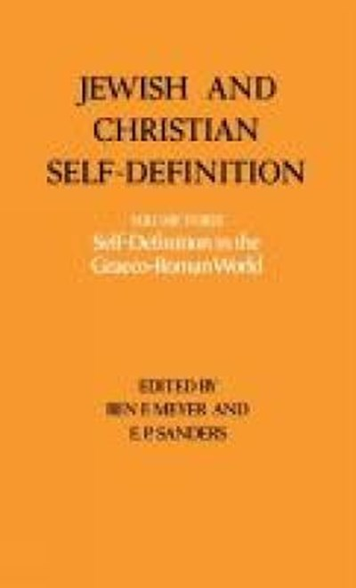 Jewish and Christian Self-Definition
