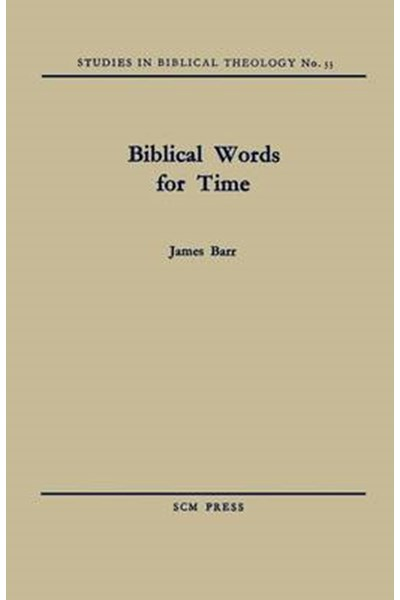 Biblical Words for Time
