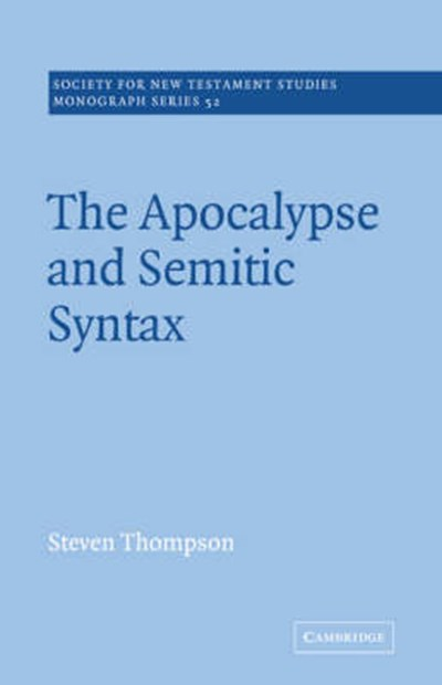 Apocalypse and Semitic Syntax