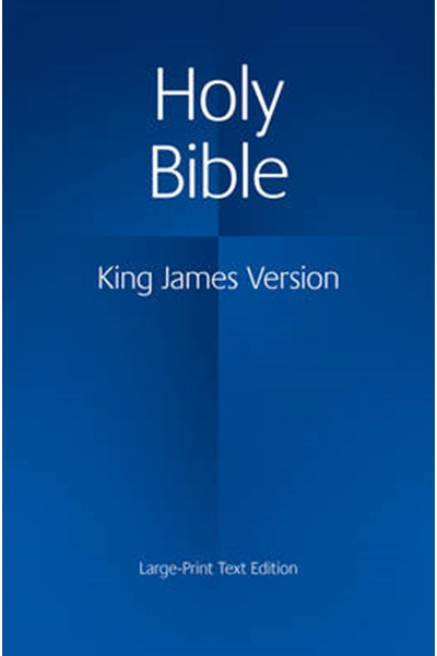 KJV Large Print Text Bible Kj650:T