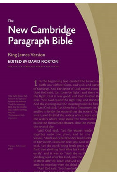 New Cambridge Paragraph Bible KJ590:T