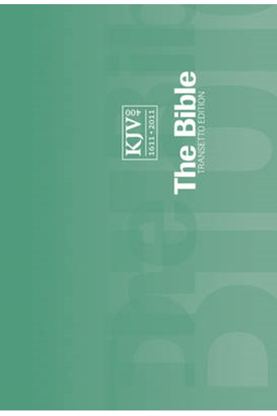 KJV Transetto Text Edition Green