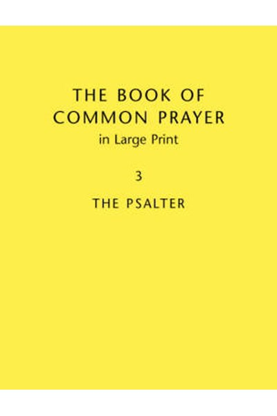 Book of Common Prayer Large Print  BCP481: Volume 3