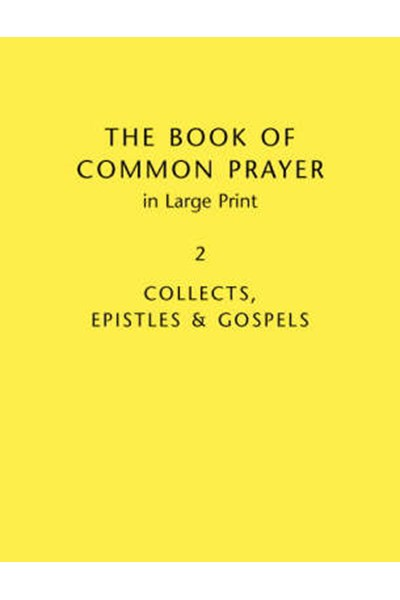 Book of Common Prayer Large Print BCP481: Volume 2