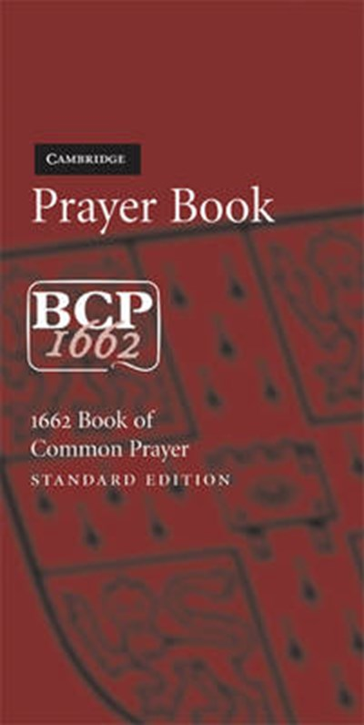 BCP Standard Edition Prayer Book BCP601 Burgundy Imitation Leather