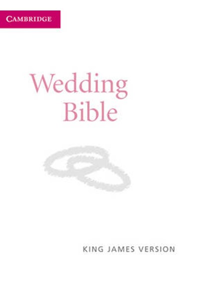 KJV Wedding Bible KJ12W White Imitation Leather