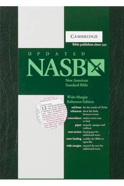 NASB Wide Margin Reference Edition NS741:XRM